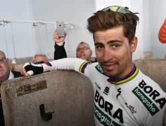 PARIJS-ROUBAIX KORT 11/04. Sagan krijgt naamplaatje in douches Roubaix - Quick.Step start met sterk blok