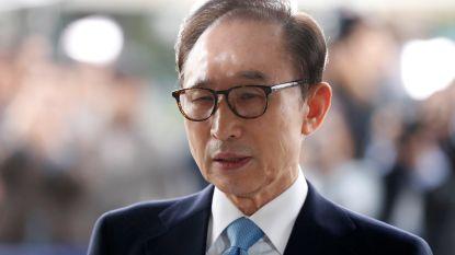 Zuid-Koreaanse ex-president krijgt 15 jaar cel wegens corruptie