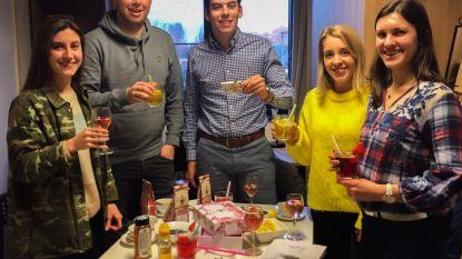 UCLL-studenten openen 'Tas-tea' pop-up in Genkse Shopping 1