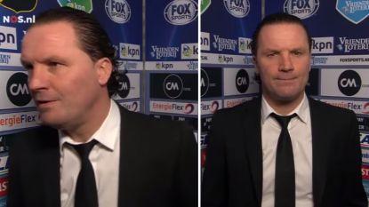 Vreven loopt boos weg tijdens interview...en staat enkele tellen later weer voor de camera alsof er niets gebeurd is