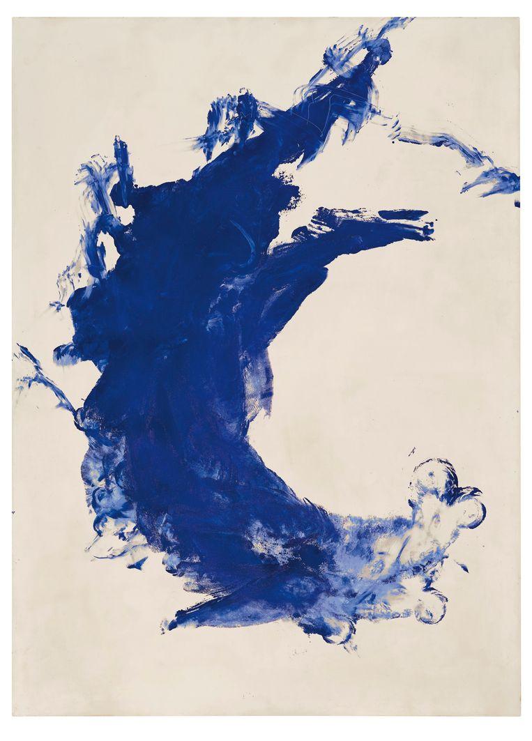 Avondveiling 13 november kavel 15: Yves Klein, Barbara (ANT 113), geschatte opbrengst: 10-16 miljoen euro. Beeld Christie's images ltd. 2019