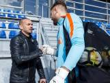 Sneijder op uitnodiging Koeman op bezoek bij Oranje