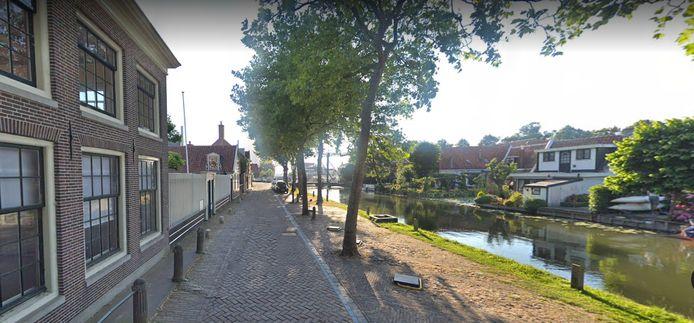 De Schepenmakersdijk in Edam.
