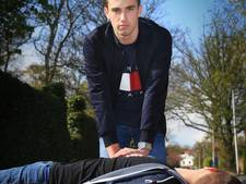Laurens (17) krijgt Gouden Pleister voor reanimatie vrouw