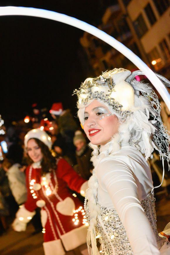 Plopsa kerstparade zaterdag in De Panne