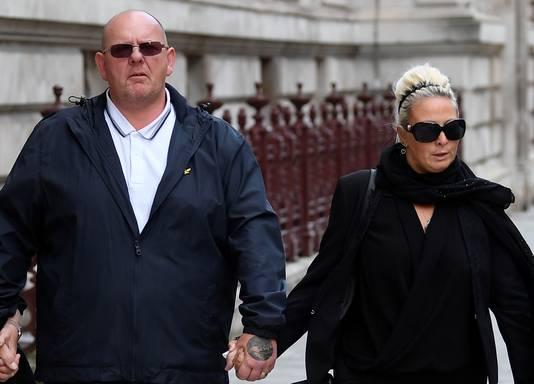 Tim Dunn and Charlotte Charles, de (inmiddels gescheiden) ouders van Harry Dunn.