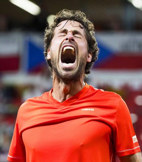 Tennissers loten Frankrijk in wereldgroep Davis Cup