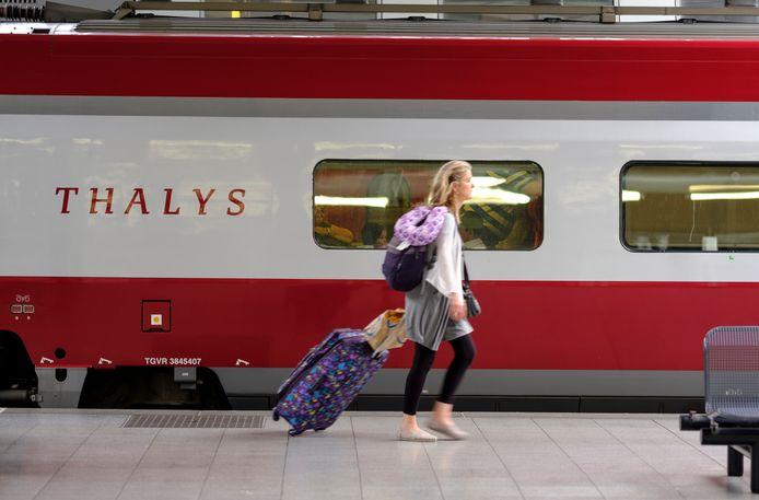 De KLM wil meer Belgische passagiers met de Thalys van en naar Brussel krijgen.