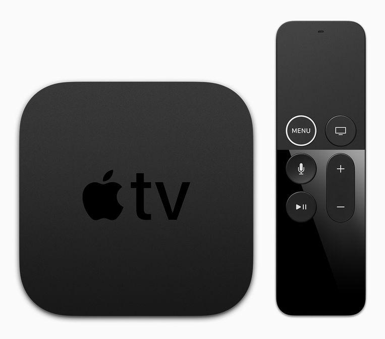 De Apple TV 4K.
