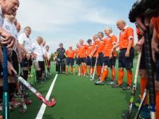 Interland 70-plussers op nieuw hockeyveld Breda