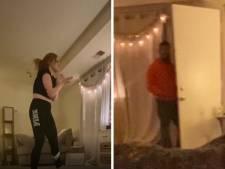 En direct sur TikTok, elle se retrouve nez à nez avec un intrus dans son salon