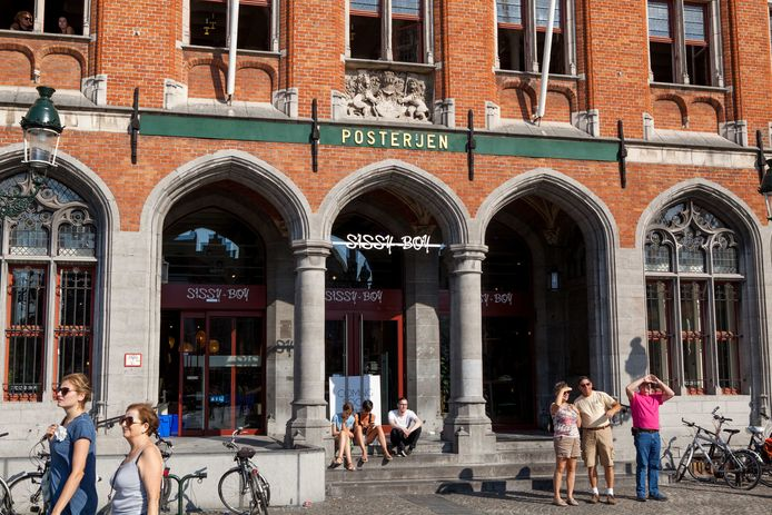 Sissy-Boy verlaat Brugge en maakt plaats voor Medi-Market.