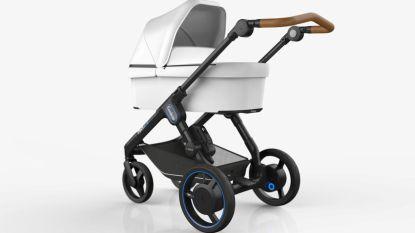 Hier komt de e-kinderwagen (met dezelfde batterij als je boormachine)