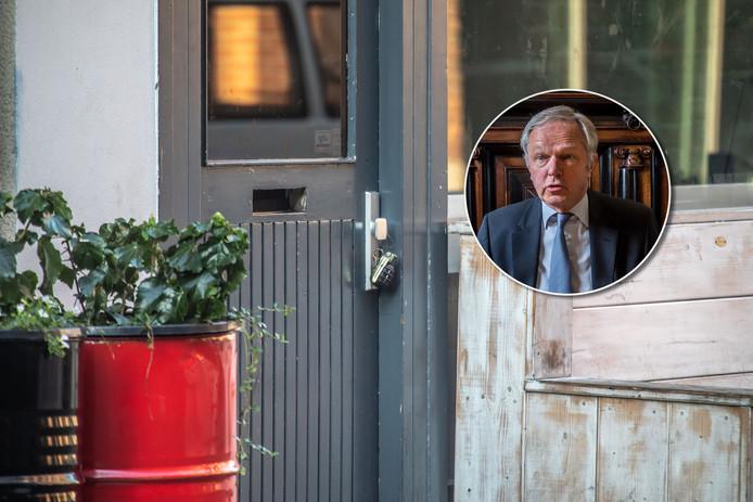 In oktober 2018 hing bij Bruut een granaat aan de deur.