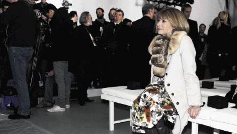 Anna's wil is wet, en er is bij Vogue niemand die aan haar gelijk durft te twijfelen. (Trouw) Beeld