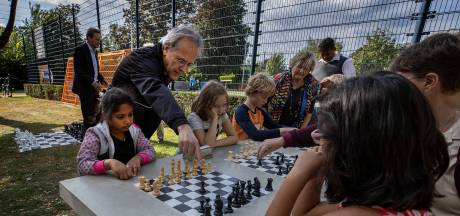 Idee voor permanente schaaktafels in Thoolse speeltuinen
