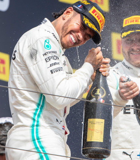 Lewis Hamilton remporte le Grand prix de France