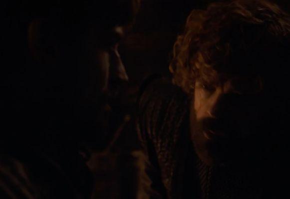 Tyrion komt Jaime bevrijden.