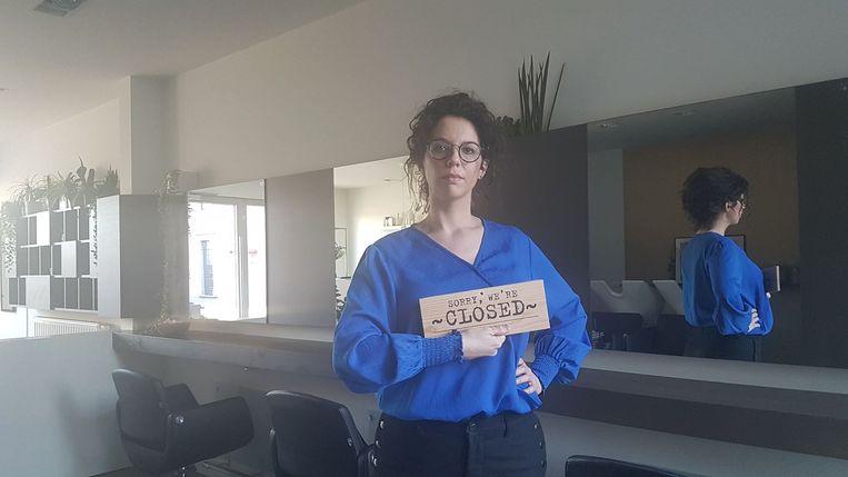 Claudia Nelen hoopt dat de collega's de deuren gesloten houden.