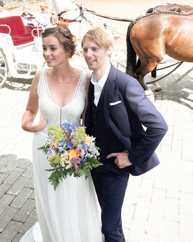 Dorien Reynaert trouwde deze zaterdag.