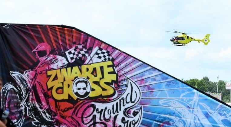 Een helikopter is zaterdag ingezet om William van het festivalterrein van Zwarte Cross naar het ziekenhuis over te brengen. Volgens de organisatie verkeerde de Kempenaar niet in levensgevaar.