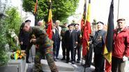 Carabiniers-Grenadiers marcheren van Laakdal naar Leopoldsburg