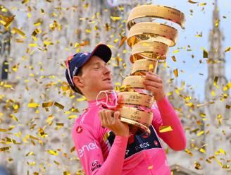 """Tao Geoghegan Hart, drie weken geleden totaal onbekend, nu winnaar van de Giro: """"I love my bike. I love my life"""""""