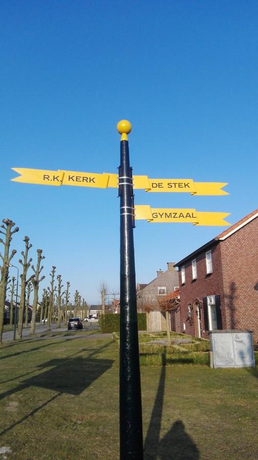 De wimpels 'wapperen' gewoon in Landhorst.