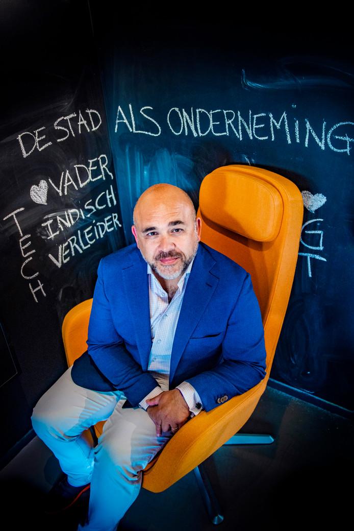 Ondernemer Danny Frietman haalt buitenlandse bedrijven naar Den Haag.