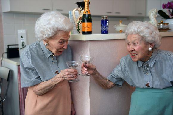 Jeanne en Marcella.