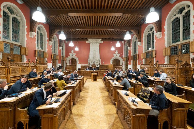 De Mechelse gemeenteraad.