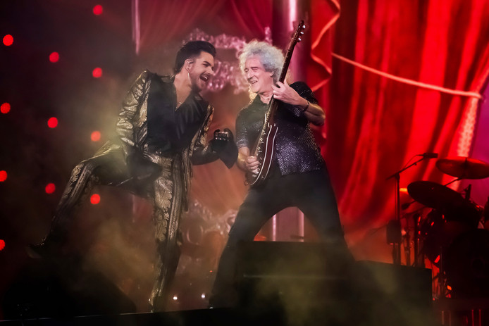 Adam Lambert et Brian May au 2019 Global Citizen Festival à Central Park, ce samedi 28 septembre à New York