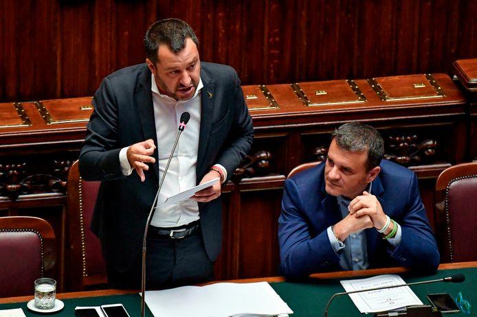 Het wetsvoorstel is een initiatief van binnenlandmnister Matteo Salvini van de extreemrechtse regeringspartij Lega.