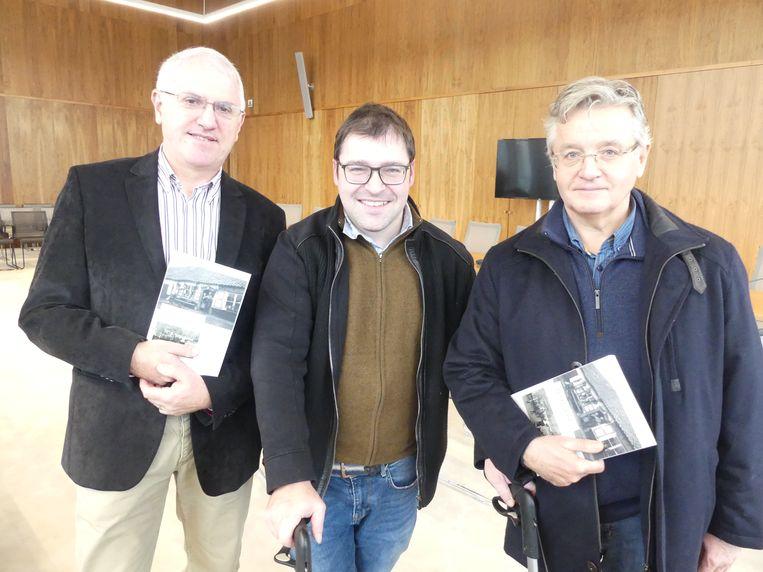Stefaan De Groote, Manuel Van den Abeele en Denis Pieters.
