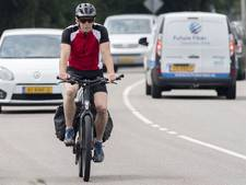 Speed pedelec net als brommer op rijbaan, behalve stukje in Velddriel