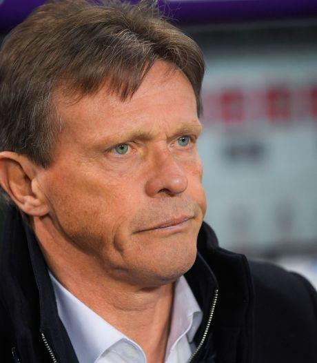 Genk veut présenter son nouveau coach aujourd'hui ou demain: Vercauteren toujours en pole position