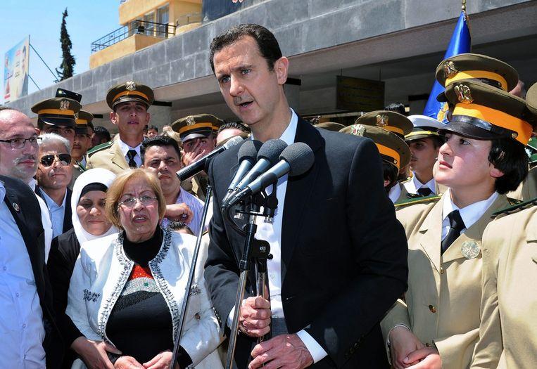 Bashar al-Assad Beeld epa