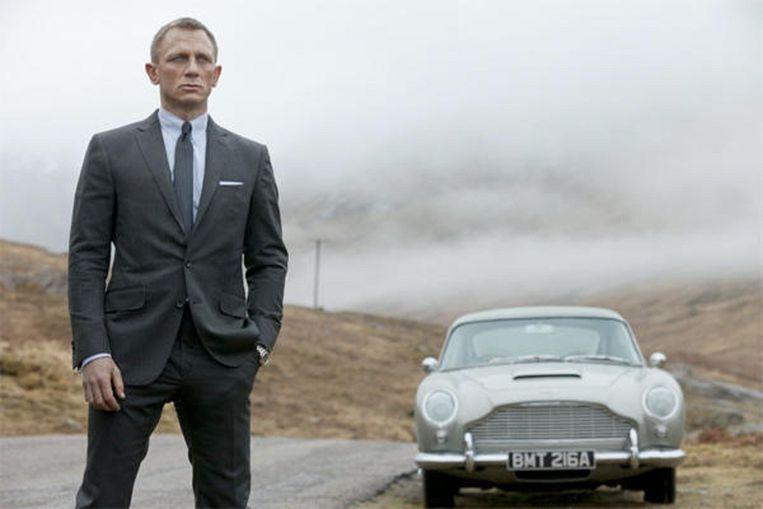 Daniel Craig in Skyfall Beeld .
