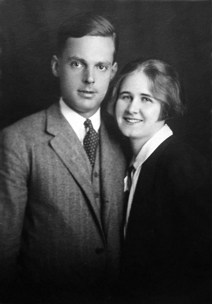 Jan Zwartendijk en zijn vrouw Erni.