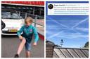 Het wapen van Enschede gespot boven Winterswijk en jonge FC Twente-fans imiteren de dans van Ron Jans.