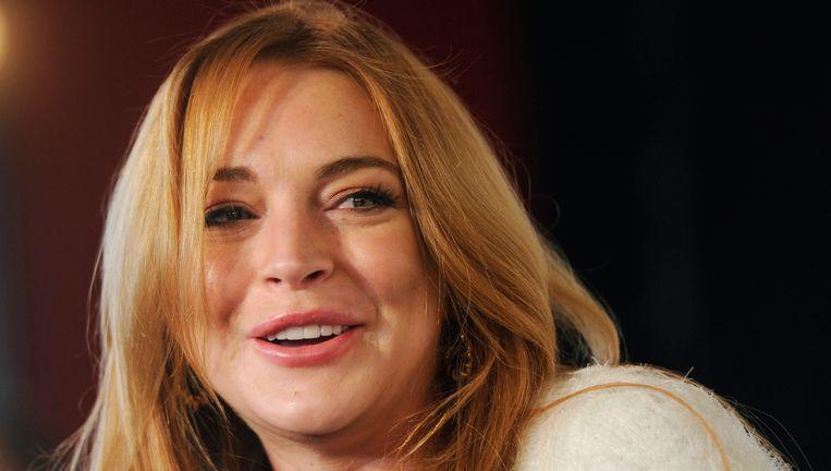 Actrice Lindsay Lohan