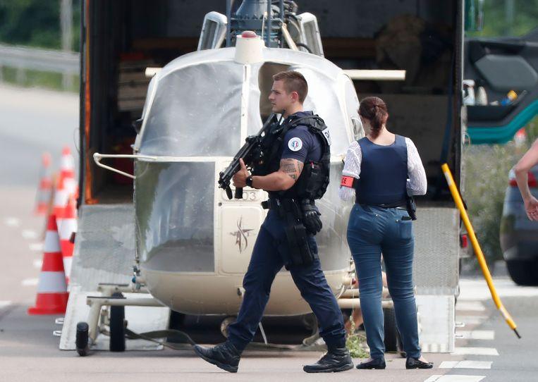 Faïd werd op 1 juli bevrijd uit de gevangenis van Réau, nabij Parijs, door gangsters die een helikopter van een vliegschool kaapten.