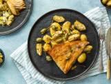 Wat Eten We Vandaag: Rogvleugel met crushed potatoes