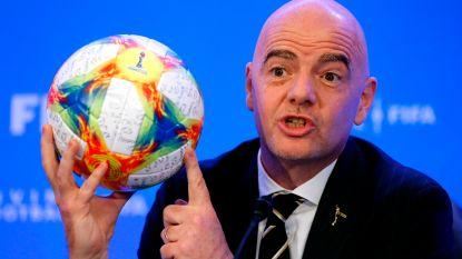 Infantino stampt tegen schenen: FIFA keurt nieuw plan voor WK met 24 clubs