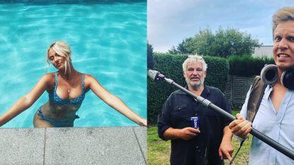 SHOWBITS. Miss België zoekt verkoeling en overweegt James Cooke een carrièreswitch?