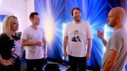 """Zo verwelkomden de 'Belgium's Got Talent'-juryleden Jens Dendoncker: """"Het enige wat je moet kennen is de rode knop"""""""