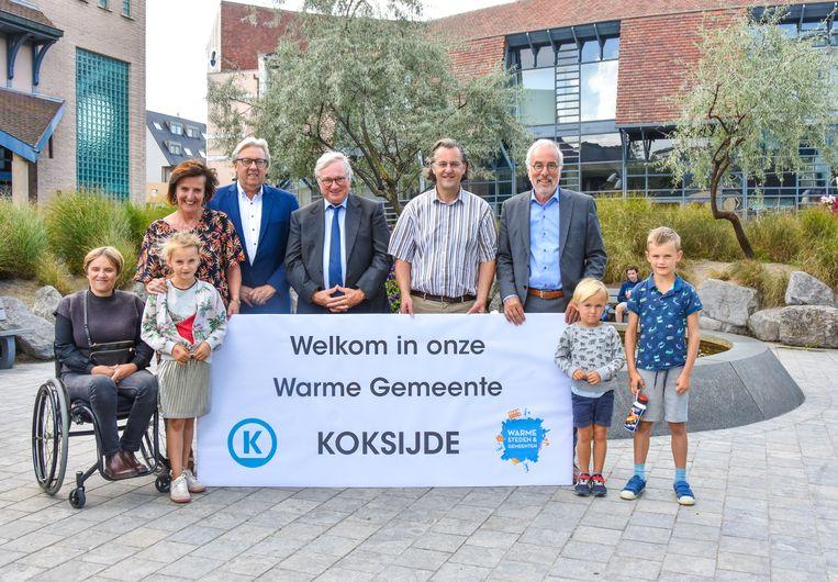 Koksijde is trots op zijn titel van 'Warme gemeente'.