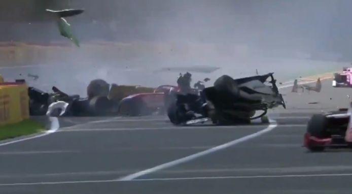 De crash.