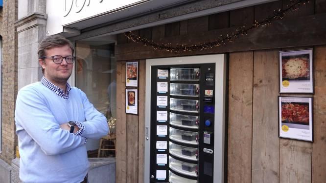 """Uitbater Aux Trois Savoyards biedt maaltijden aan in automaat: """"De gerechten zijn zoveel mogelijk met lokale ingrediënten"""""""