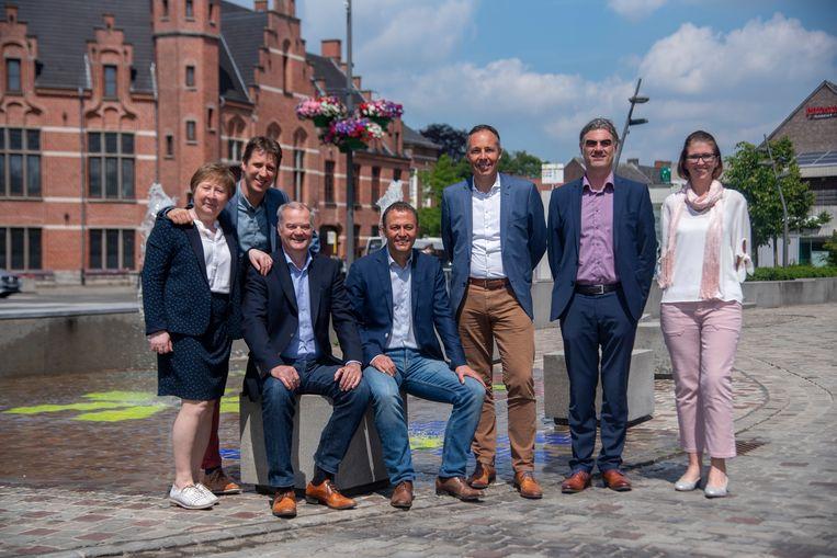 Het schepencollege van Merelbeke is ambitieus voor de komende zes jaar.